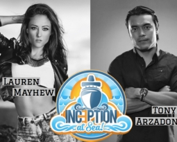 Mayhew Joins Tony Arzadon to Perform at Inception At Sea!